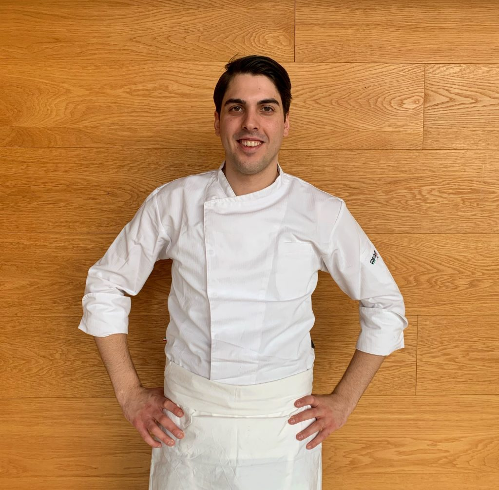 Le chef Gabriele Guarna sur Chef at Home !